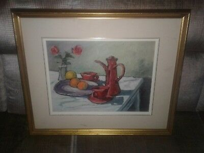 Quebec oil painting George hrabe  still life 12 x 16""