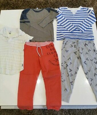 Boys mixed items size 5 brands include SEED WITCHERY, COUNTRY ROAD & BONDS