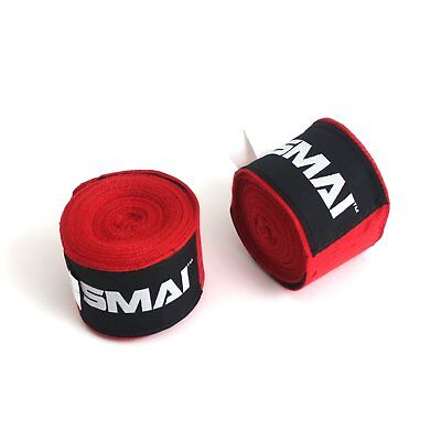 NEW SMAI 25pk Boxing Wraps 180 inch (Pairs) - Gloves Thai MMA UFC Punch Wrist...