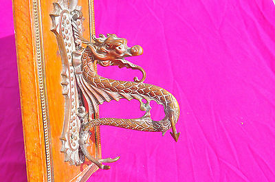 Antique Dragon Mounted Gong***REDUCED PRICE***