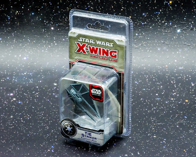 Star Wars X-Wing Miniatures Game TIE Striker Expansion - New - Real Aus Stock!