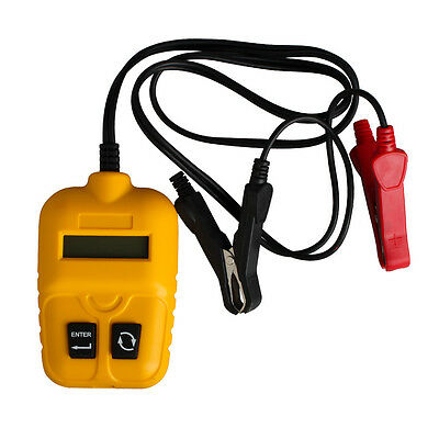 Auto Battery Analyzer Teste with LCD Screen Test Car Battery's IR CCA Voltgage