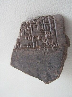 Rare Ancient Clay Tablet with Earliest Script 2000BC