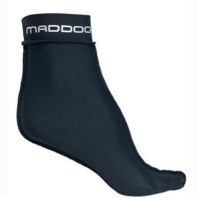Maddog Lycra Socks - Ideal for Fin/Flipper use & Inside Dive Booties Size S-XL