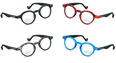 Occhiali Lettura Montana Reading Glasses Tondi Colorati Presbiopia Retro Nerd