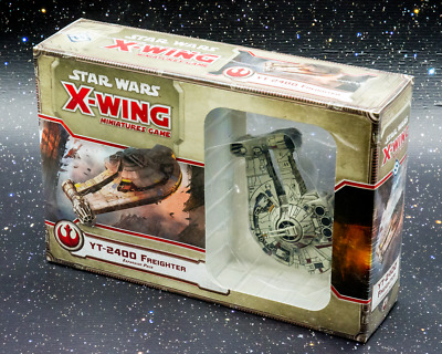 Star Wars X-Wing Miniatures Game YT-2400 Freighter Expansion - New - Aus Stock