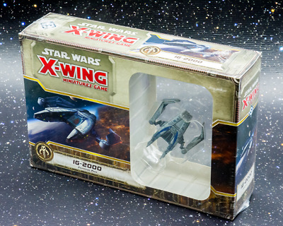 Star Wars X-Wing Miniatures Game IG-2000 Expansion - New - Real Aus Stock!