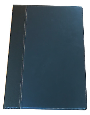 10 A4 Faux Leather Stitched Menu Covers + 4 pockets $159.50 FREE FREIGHT
