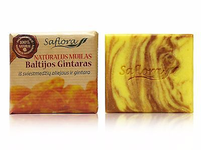 Soap BALTIC AMBER with Organic Shea Butter & Amber 100 g