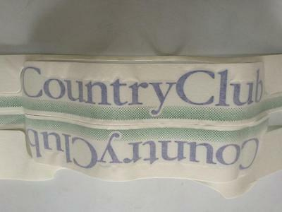 "KIT ADESIVI DECORAZIONI PANDA 4x4 OLD 1 SERIE ""COUNTRY CLUB"""