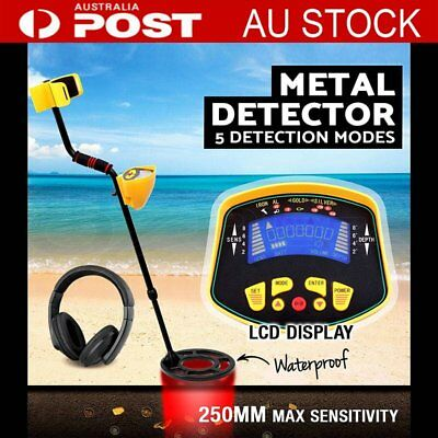 LCD Deep Target Sensitive Searching Metal Detector Gold Digger Treasure Hunting