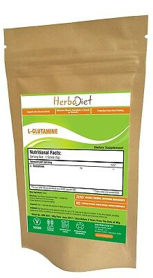 L-Glutamine Free Form Powder Muscle Development Recovery Pharmaceutical Grade