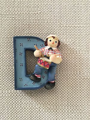 Raggedy Andy With Drum Figurine Enesco