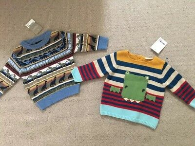 BNWT NEXT Baby Boy Winter Knit Jumper Bundle Set 3-6months