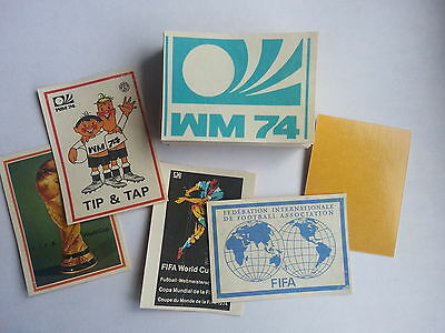 PANINI WC MUNCHEN  74 take 6 stickers cut out - from list !!