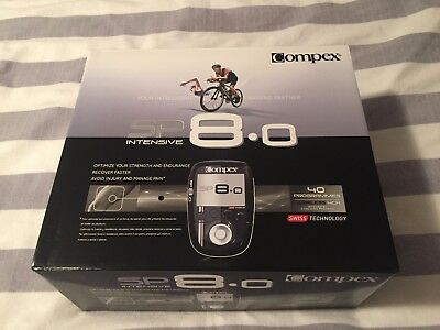 Compex SP 8.0 Wireless Muscle Stimulator Brand New Sealed