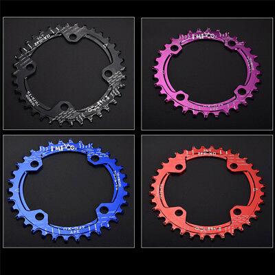 Narrow Wide Chainring Neutrino Components 104 bcd 32t 34t 36t 38t Oval Round