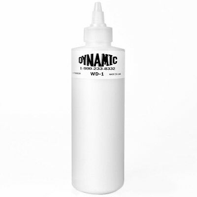Dynamic White Tattoo Ink - 8oz Bottle, Genuine Dynamic Brand Tattoo Ink