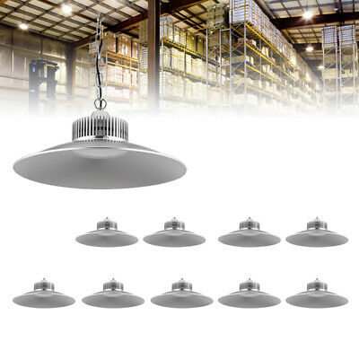 10X 150W LED High Bay Light Hanging Comercial Factory Warehouse Industrial White