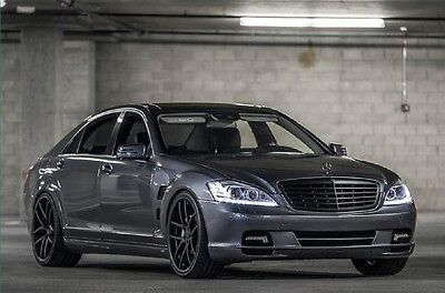 2010 Mercedes-Benz S-Class AMG Pkg 550,AMG Pkg,Pano-roof,TVs,Subs,Stealth radar,Staggered wheels