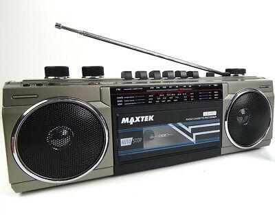 Vintage Retro Boombox Casette Player With Bluetooth USB & SD Card Support 4 Band