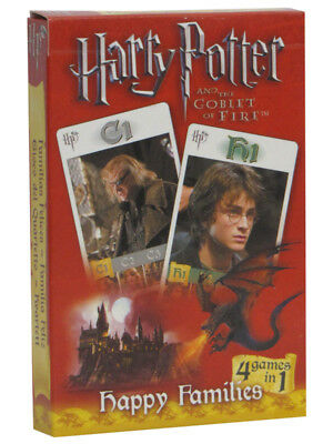 Harry Potter And The Goblet Of Fire Trading Cards Collectible Play 4In1 Games