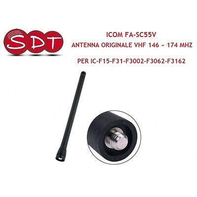 Icom Fa-Sc55V Antenna Original Vhf 146 ~ 174 Mhz For Ic-F15-F31-F3002-F3062-F31