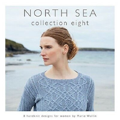 NORTH SEA - COLLECTION 8 by Marie Wallin  knitting pattern book for Rowan