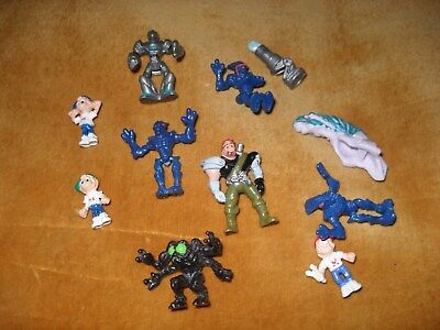 A Collection Of Mighty Max Figures