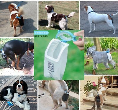 60pcs Poop Bags Piqapoo Pet Dog Tail Holder Poo Pack Waste Poop Bags