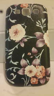 2 Pack Flower Print Hard Back Shell Back Case for Samsung Galaxy S3