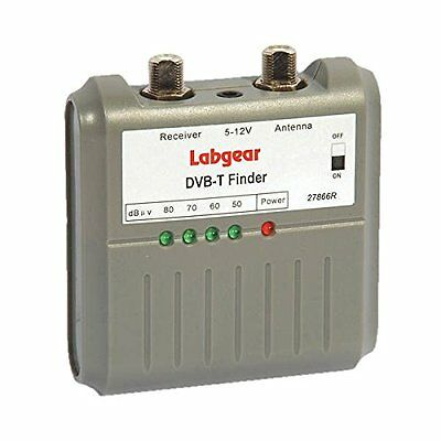 Labgear Digital Freeview Tv Signal Finder Meter 27866R