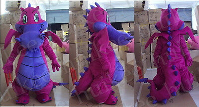 Big Dragon Mascot Costume Fancy Dress Outfit Suit EPE