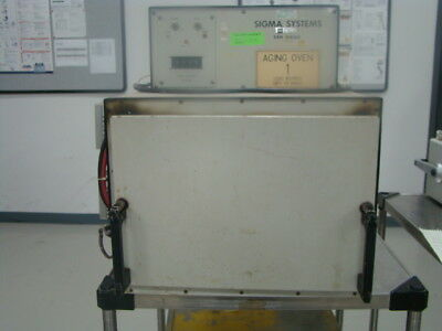 Sigma Systems 2429 Aging Oven, 120V, 12A, 900 psi, Industrial