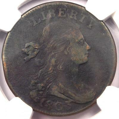 1803 Draped Bust Large Cent 1C S-244 - NGC VF Details - Rare Early Penny