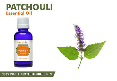 Patchouli Essential Oil 100% Pure Natural PREMIUM Therapeutic Grade Oils