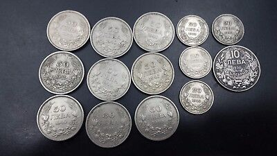 Boulgaria  Lot Of  14 Coins 1930-1943