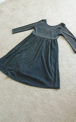 topshop maternity party dress. size 10.  Sparkly Christmas Wedding