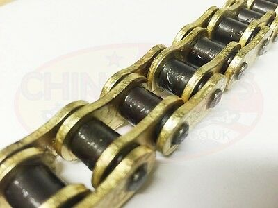 Heavy Duty Motorcycle X-Ring Gold Drive Chain 530-110L Kawasaki ZRX1200 01-04