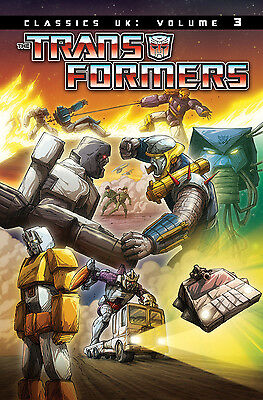 Transformers Classics UK Volume 3 - Paperback. SIGNED by Andrew Wildman
