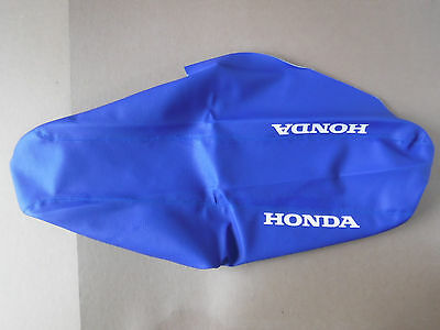 FLU Designs gripper seat cover Team Honda 2000 2001 CR125 CR125R  CR250 CR250R