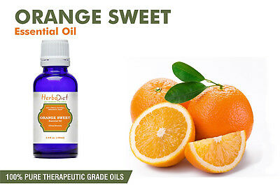 Sweet Orange Essential Oil 100% Pure Natural PREMIUM Therapeutic Grade Oils