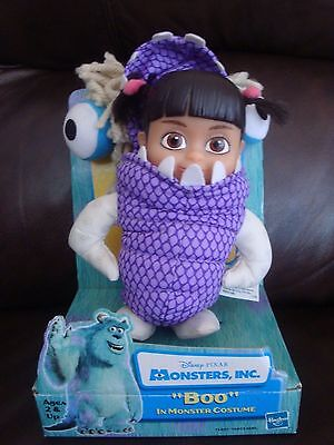 Monsters Inc. Boo Doll in Monster Costume, NEW