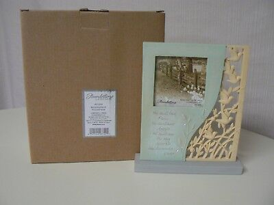 Enesco FOUNDATIONS BEREAVEMENT PICTURE FRAME We Shall Find Peace Angels