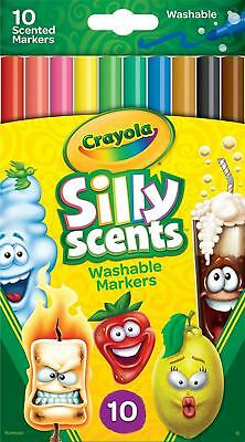 Crayola Washable Fine Line Silly Scents Markers - 10 Pack