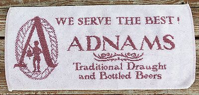 Vintage Pub/Bar Top Towel - Adnams Draught & Beer