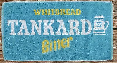 Vintage Pub/Bar Top Towel - Whitbread Tankard Bitter