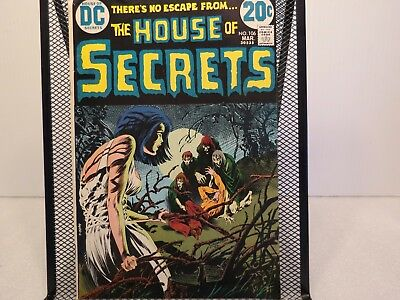 DC Comics The House Of Secrets Comic Book, #106, March 1973, Very Nice Condition