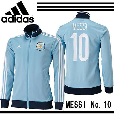 ADIDAS MEN'S  ARGENTINA MESSI TRACK TOP  -  BNWT! Size: LARGE