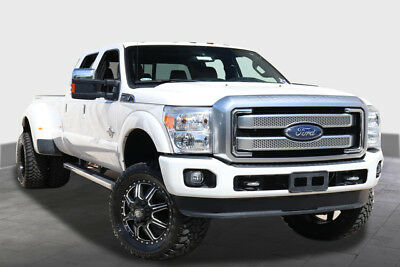 2016 Ford F-350  2016 FORD F350 PLATINUM DUALLY LEATHER NAV REAR CAM AC SEATS